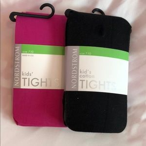 NWT Nordstrom Kids tights 7-10